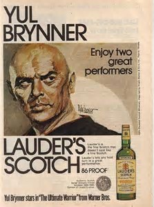 Lauder's Yul Brynner