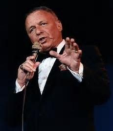 Sinatra performing