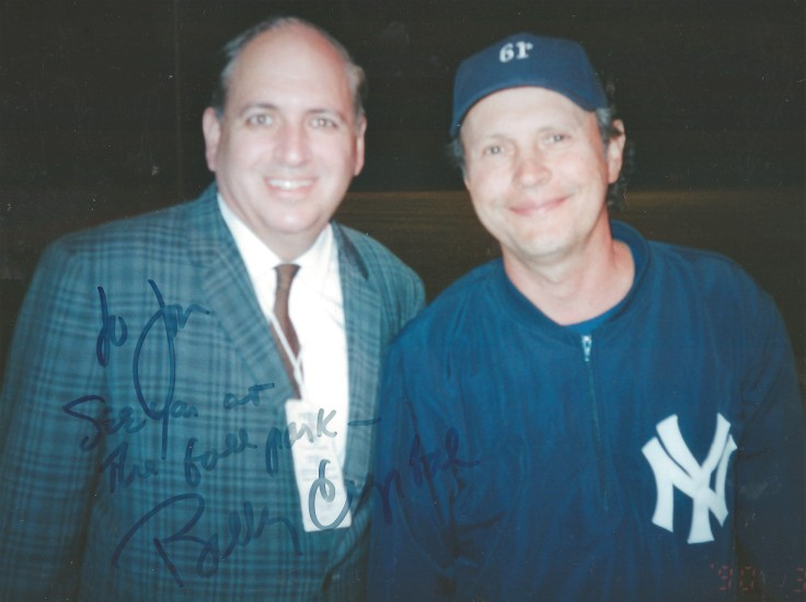 Billy Crystal 8 x 10 WITH AUTOGRAPH