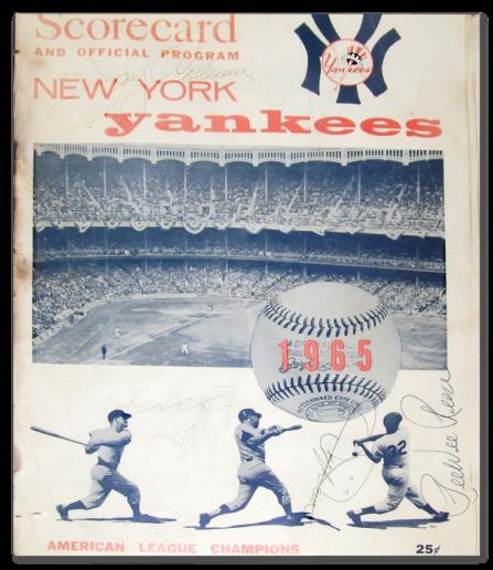 Yankees-Scorecard