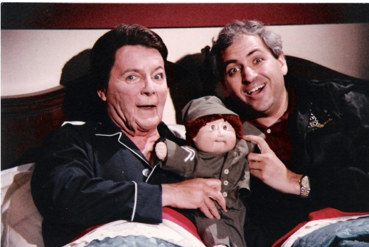 Fred as Reagan with Jon CU