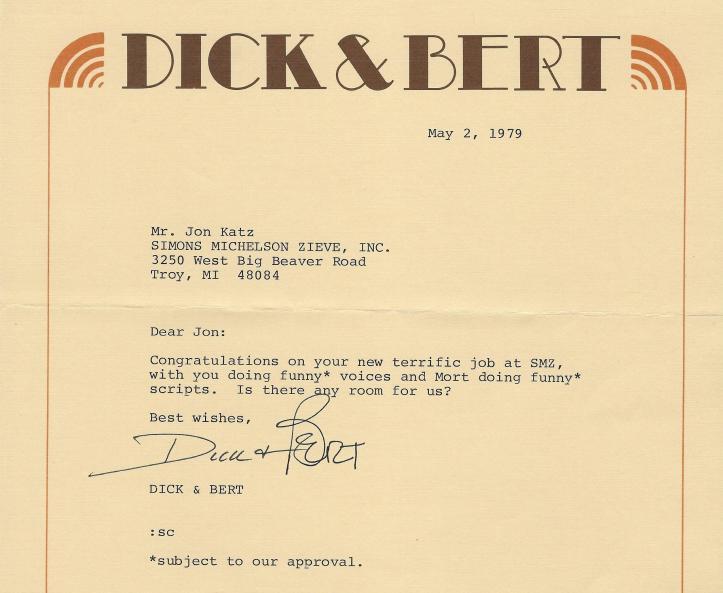 D&B Letter